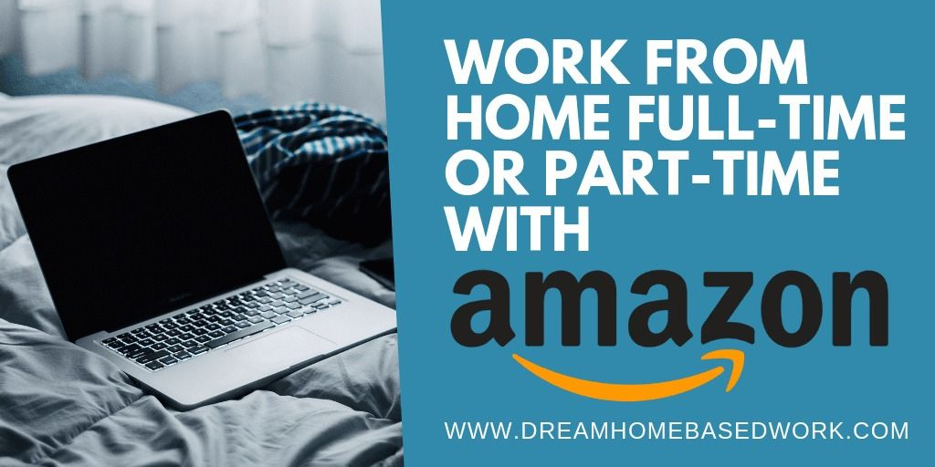 Amazon Online Jobs Work From Home Part Time Or Full Time Amazon Online Jobs Online Jobs Amazon Work From Home