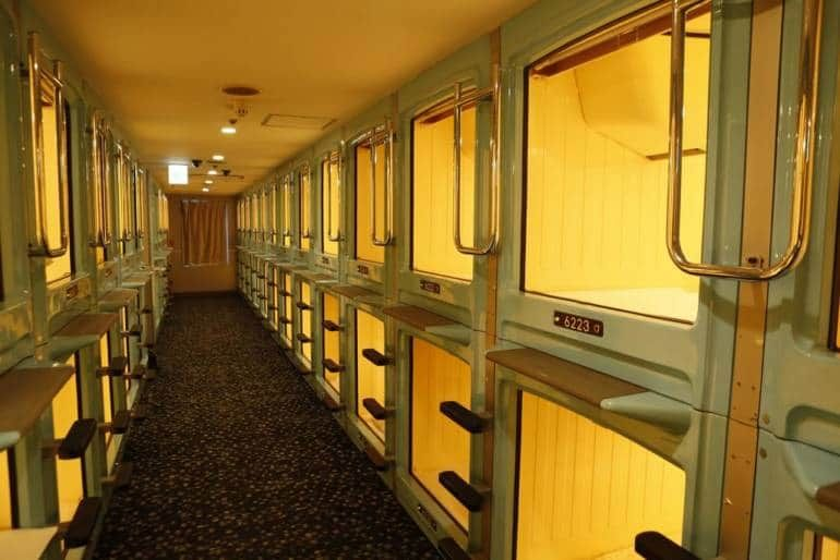 Related image | Capsule hotel, Tokyo hotels, Sleeping pods