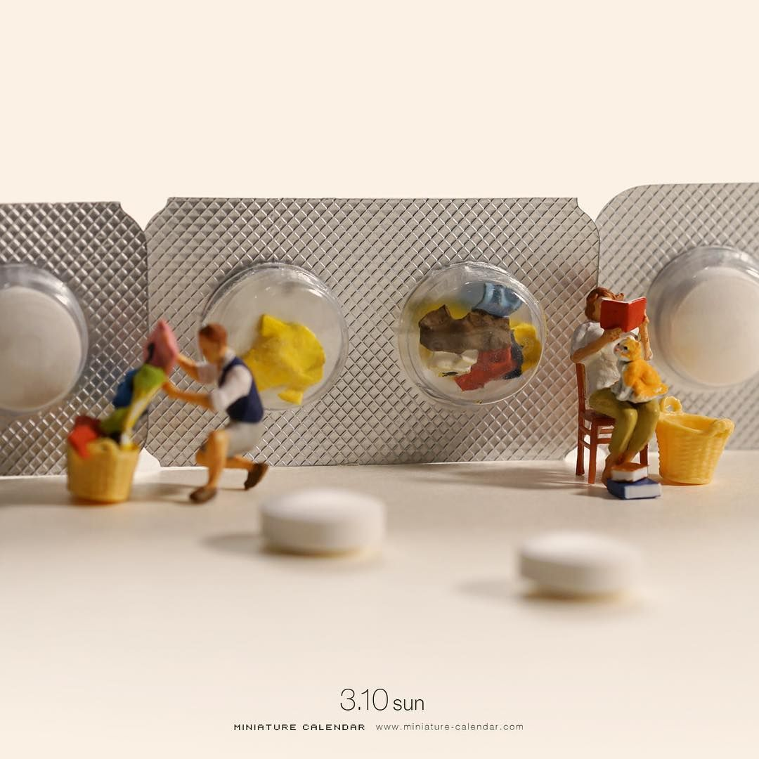 Miniature Art By Tatsuya Tanaka Tatsuya Tanaka Is A Japanese