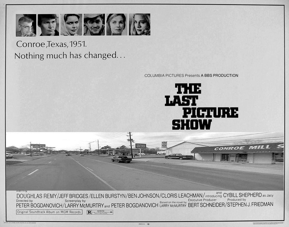 Image result for the last picture show poster