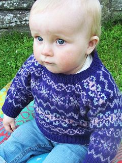 Peerie Bairn's Jumper by Sandra Manson for Jamieson & Smith