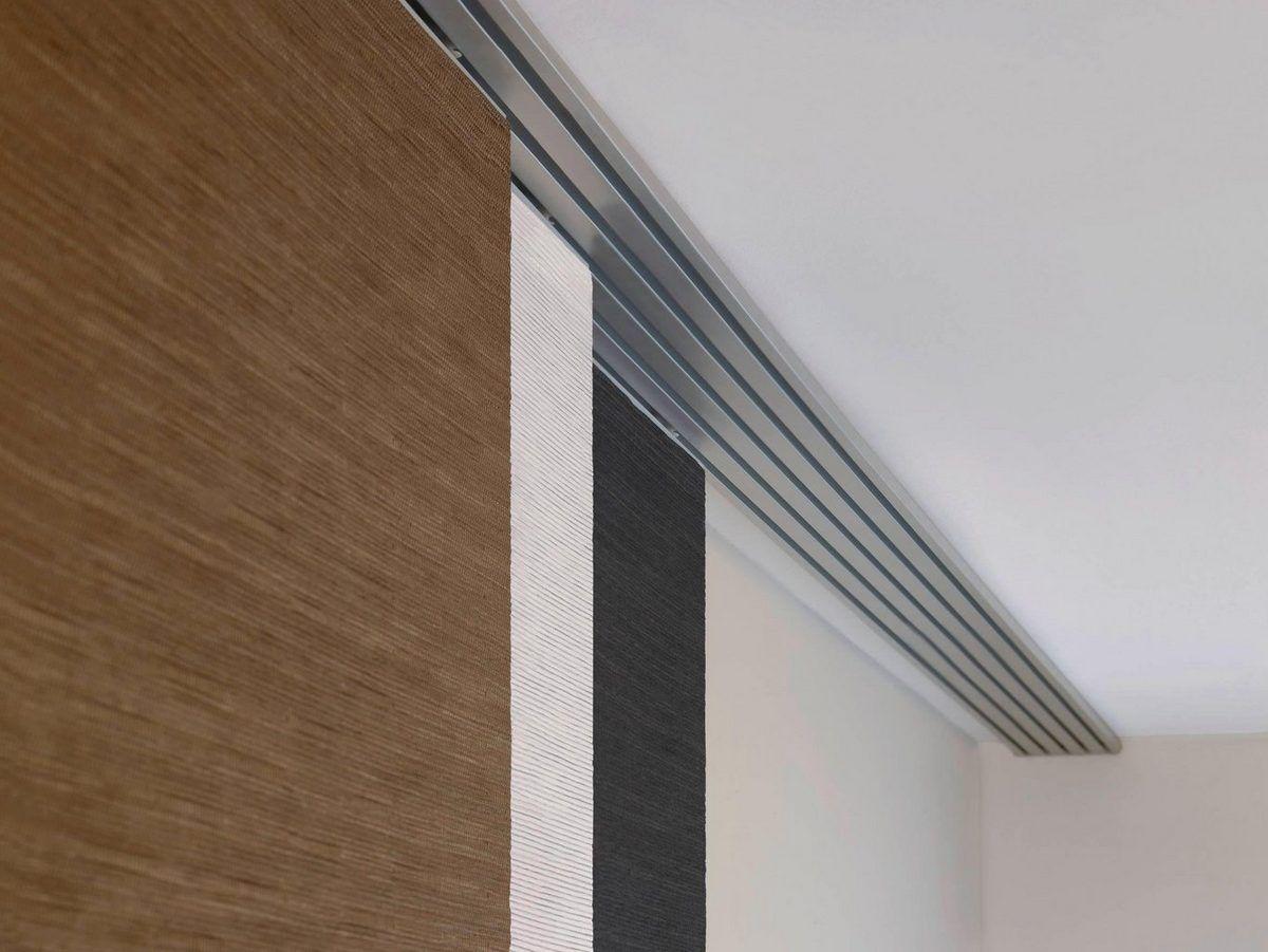 Flachenvorhang Mit Klettband ~ Schiebegardine flächenvorhang naturoptik« gardinia klettband