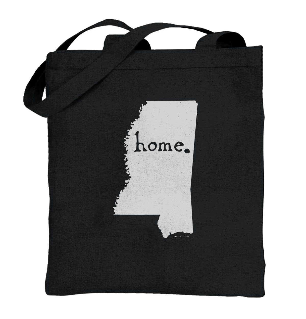 Mississippi State Shirt State Pride USA T Novelty Gift Ideas Cotton Tote Bag. 100% cotton canvas, 6 oz. Size: 15 x 16. 22 reinforced self-fabric handles. Tote it in style. Designed and printed in the USA using ecofriendly inks with a butter soft hand. We've paid attention to, and perfected, every detail... and it makes all the difference, between just any bag and a bag that's loved! (Image tones var. Express your fashion sense with one of our printed totes. Great gift for yourself…