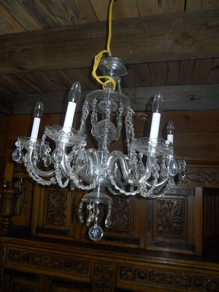 Does anyone know how to clean a crystal chandelier