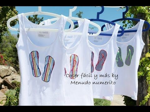 995639ff15e00 Cómo personalizar camisetas o remeras  camisetas chancleteras - YouTube