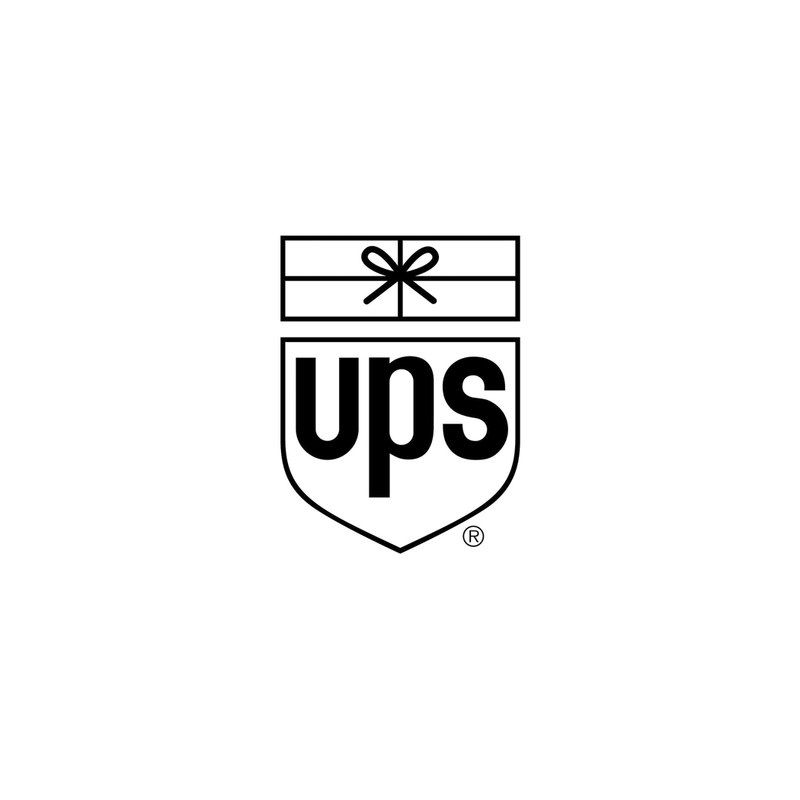 logo for united parcel service ups by paul rand 1961