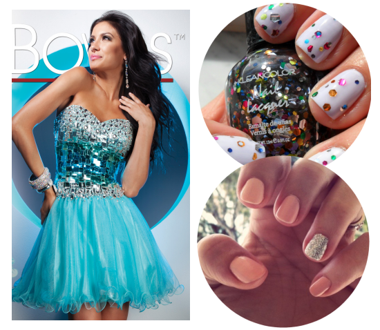 What Color Nail Polish With Teal Dress Best Designs 2018