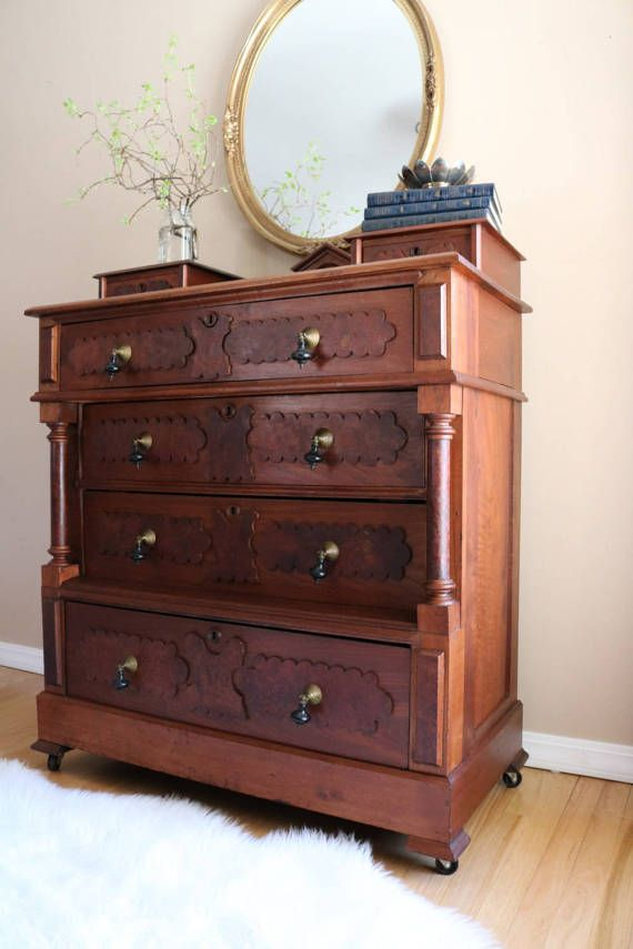 Love This Redo Of An Antique Dresser Furniture Redo Furniture