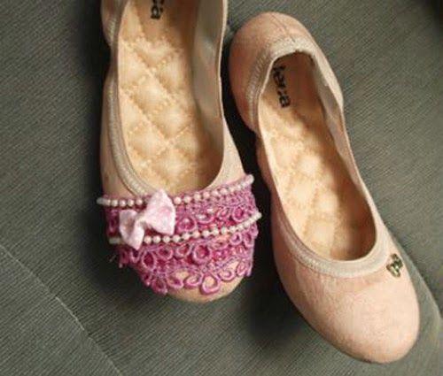 be3b0796b2 DIY - como customizar sapatilha infantil