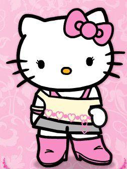 Maestra De Infantil Hello Kitty Dibujos Para Colorear 著畫