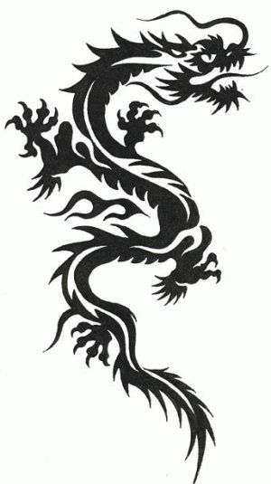 Earth Dragon Tattoo Google Search Stencils Tatuagem Desenhos De Tatuagem De Dragao Tribal Tatuagens De Dragao