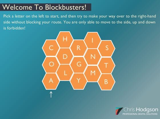 Free Blockbusters Themed Storyline 2 Template