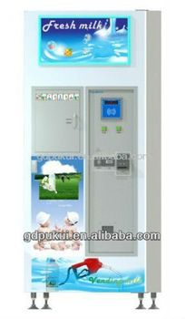 Automatic Fresh Milk Vending Machine with cooling system