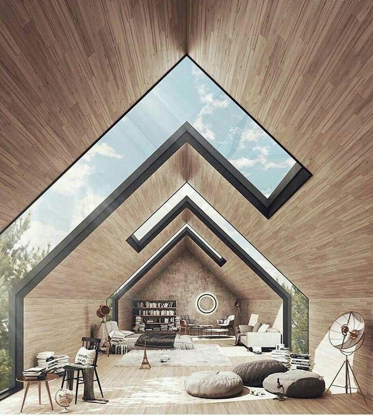 Photo of Ich entschied mich für dieses Zimmer wegen der coolen Oberlichter – architektur