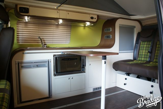 VW Transporter T5 T6 Camper Conversion - LWB Infinity Interior ...