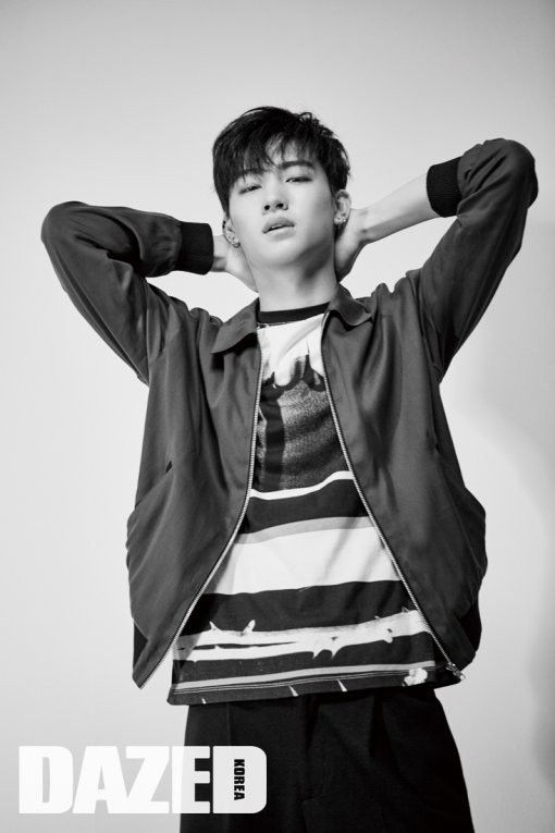 GOT7's JB has his first solo photoshoot with 'Dazed and
