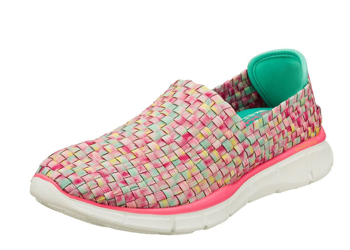 Skechers Equalizer Vivid Dream Pink Multi Womens Slip On Shoes