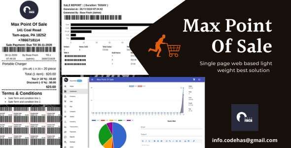 Max Point Of Sale Multiple Suppliers And Due Payment Supported