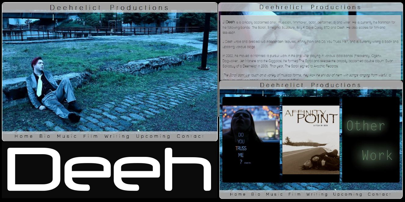Deeh's Web site by id Vision.