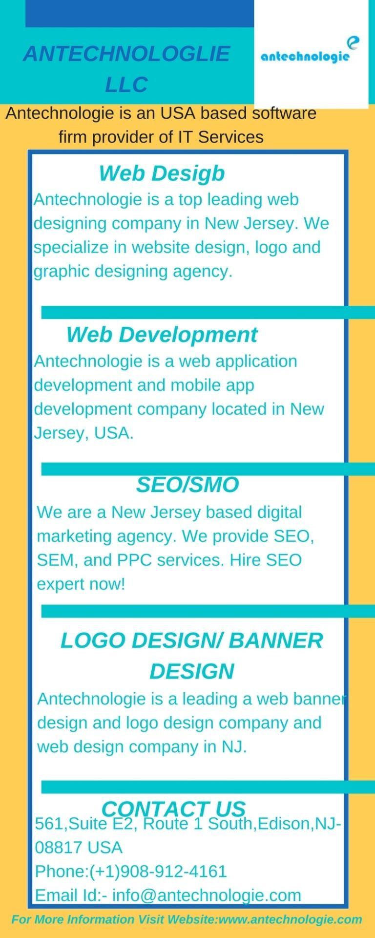 Antechnologie Web Design Responsive Website Design Web Application Development
