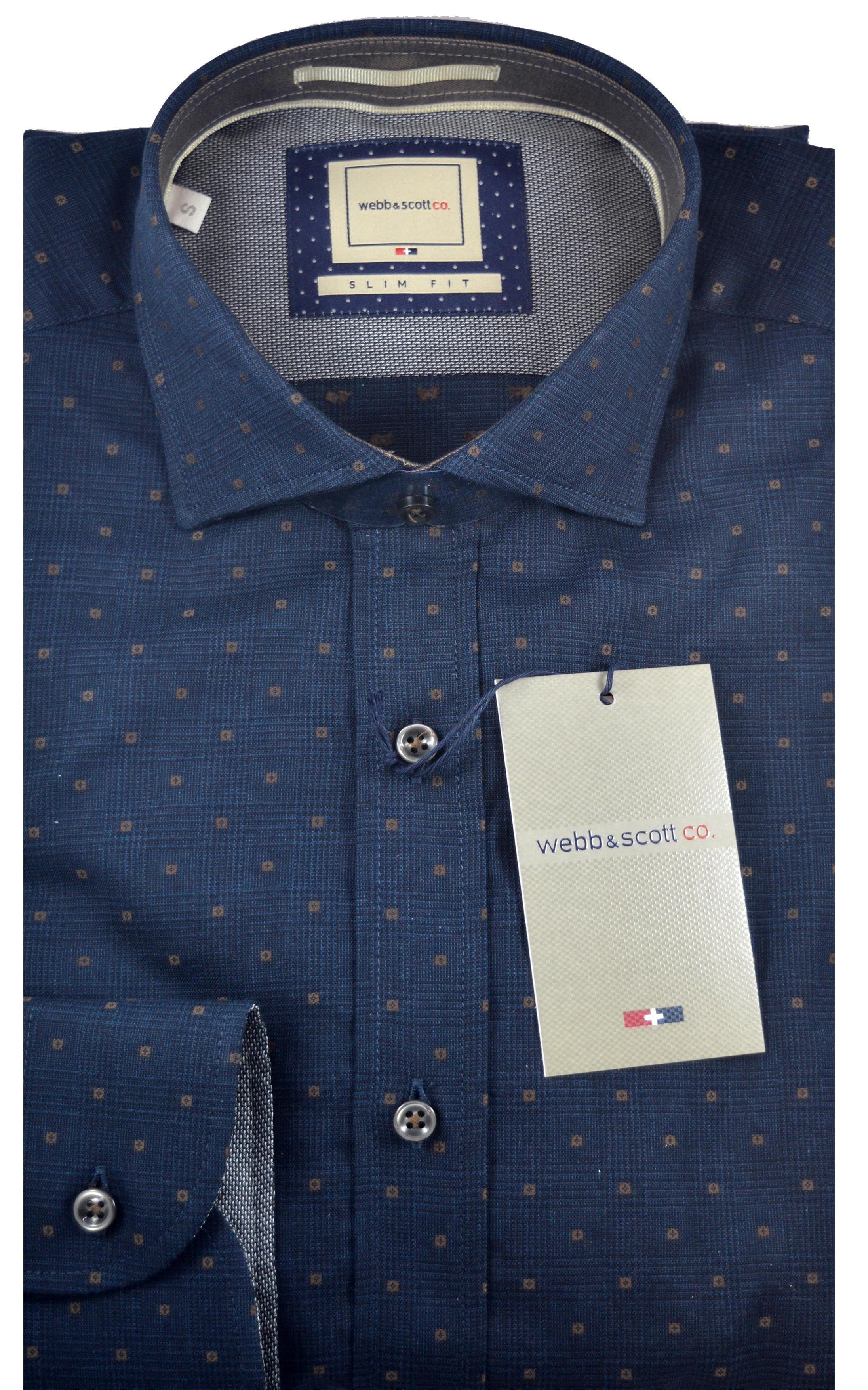 low priced fab78 fa35e camicia uomo Webb & Scott 100%cotone in vendita presso ...