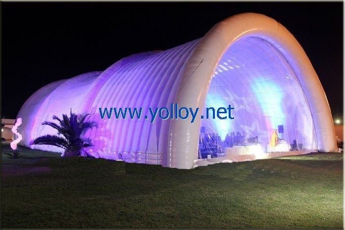 large outdoor inflatable light tent of evening party | #tent : big tent parties - memphite.com