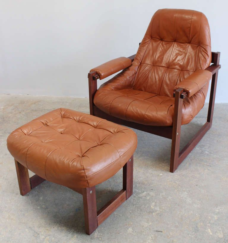 Charmant Percival Lafer Chair And Ottoman