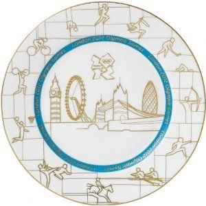 "Price: $57.75 - Wedgwood London 2012 Olympic Games Commemorative Plate 10.75"" - TO ORDER, CLICK THE PHOTO"