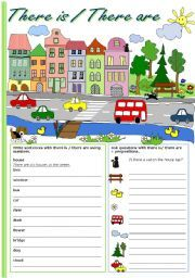 english teaching worksheets there is there are ideas pinterest worksheets english and. Black Bedroom Furniture Sets. Home Design Ideas