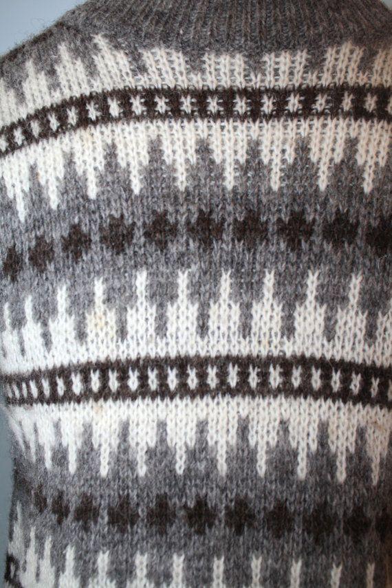 Vintage NORWEGIAN Wool Fair Isle Sweater / by GroovyLuvVintage ...