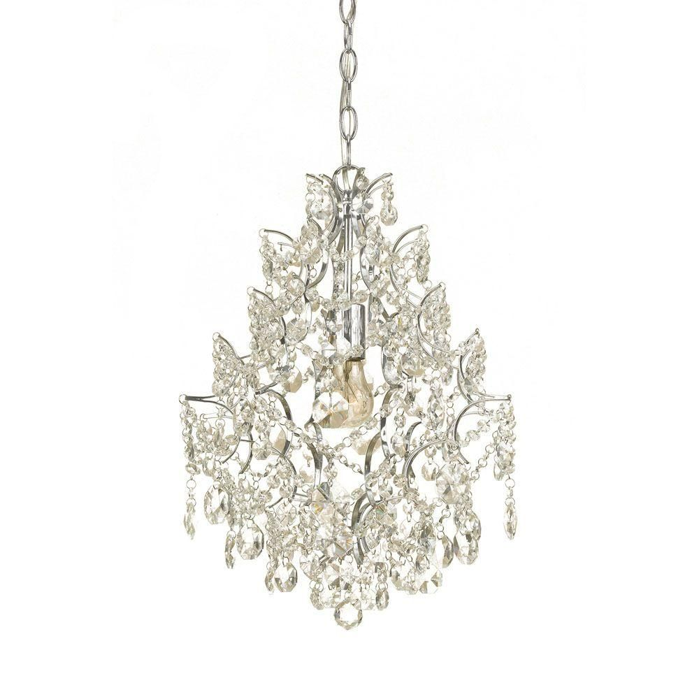 Af lighting cosmo 1 light chrome mini chandelier with glass accents af lighting cosmo 1 light chrome mini chandelier with glass accents arubaitofo Image collections