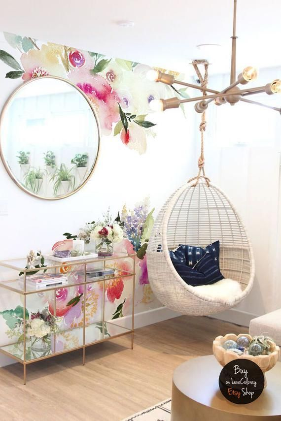 Collected Wildflowers Wall Mural, Watercolor Flowers Abstraction Wallpaper, Removable wallpaper, Field flowers nursery wall decor #67 - ##67 #Abstraction #Collected #Decor #Field #flowers #Mural #Nursery #removable #Wall #Wallpaper #Watercolor #Wildflowers