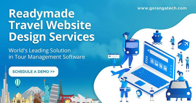 Goranga Tech is a leading travel website designing