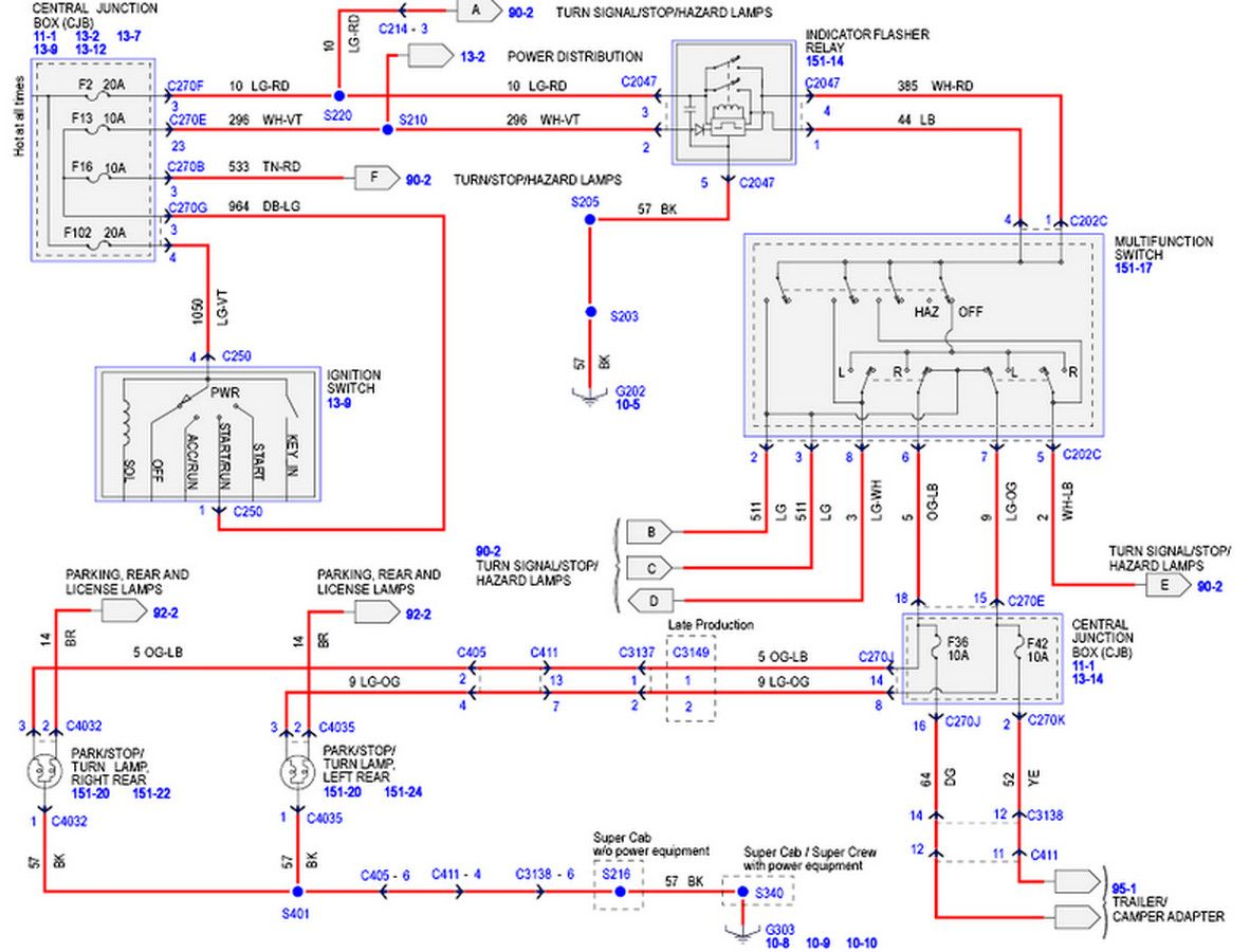 Ford F150 Wiring Diagram 3 2014 Ford F150 Ford F150 2006 Ford F150
