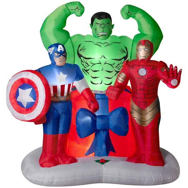 The Avengers Holiday Inflatable New For 2013 Super