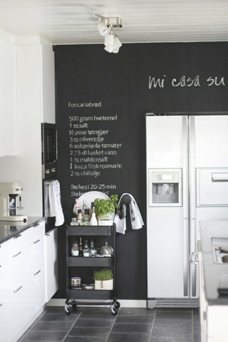 wanddeko selber machen tafel k che k che in 2018. Black Bedroom Furniture Sets. Home Design Ideas