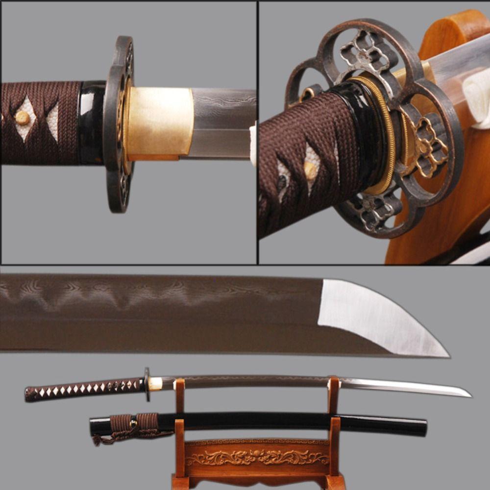 Kitana Sword Owl Origami Katana Japanese Tutorial With Diagram Diy Henry Sharp Iaido Samurai Folded Steel Clay Tempered Cosplay Espadas Knife Style