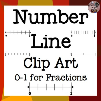 Fractions on Number Lines Clip Art | Logos, Memories and Clip art