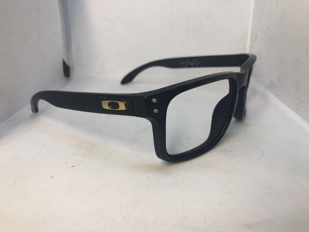 2af5b57549c Oakley Shaun White Holbrook 9102-17 Matte Black Sunglasses Frames (Frames  only)