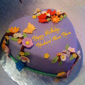 Happy Birthday Cake for Husband Birthday Cakes Pinterest