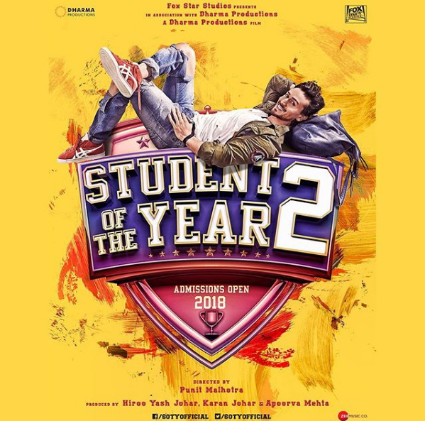 Latest Educational News Update: Student Of The Year 2 Movie Day 1 Box Office Collection