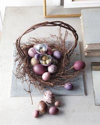 Martha's Stunning Easter Basket Creations - 2013: Bird's Nest