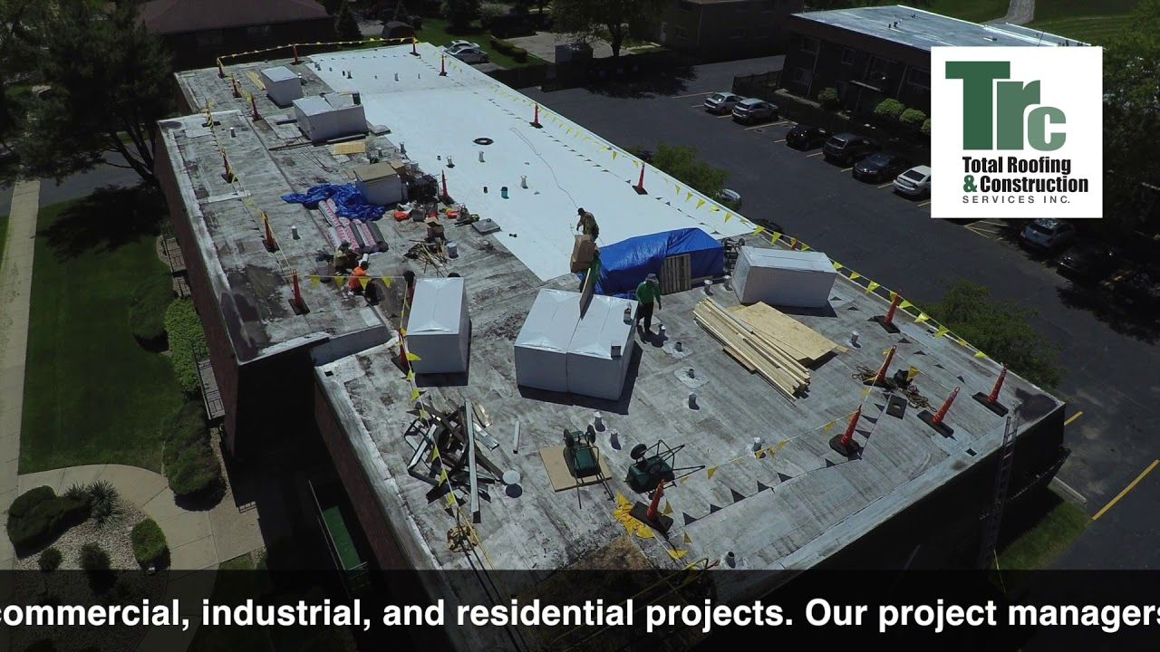 Pin On Commercial Roofing Projects