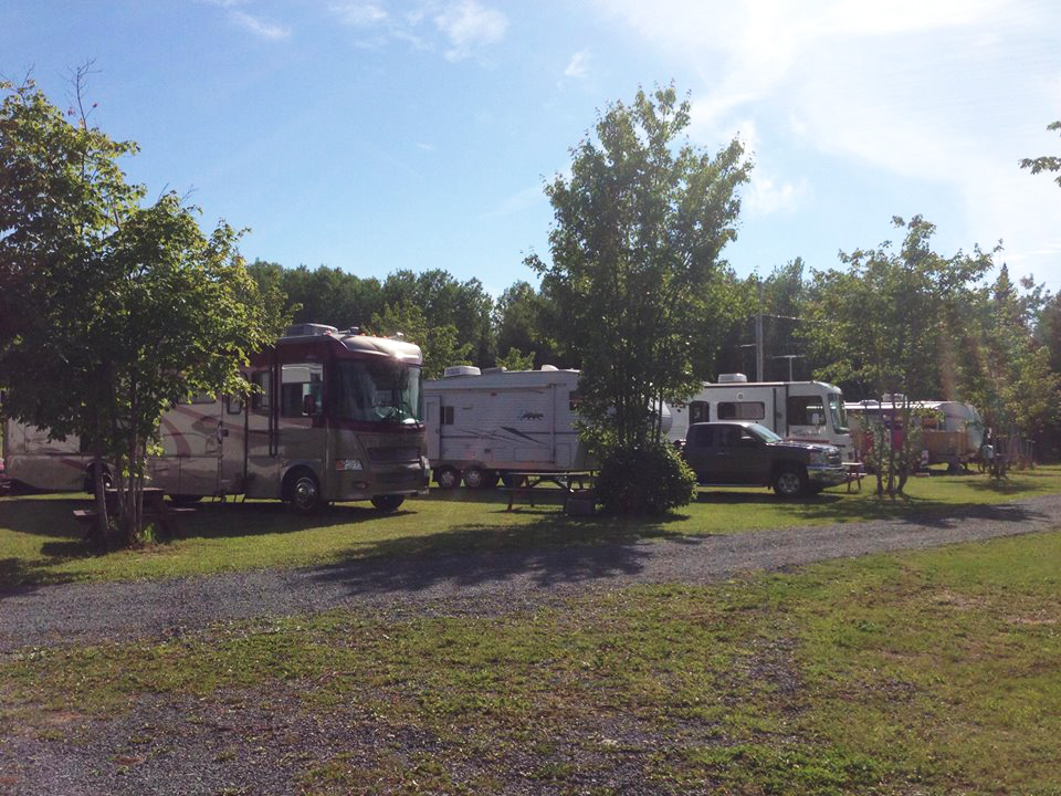 Silver Sands RV Park At Cap Pele New Brunswick Canada