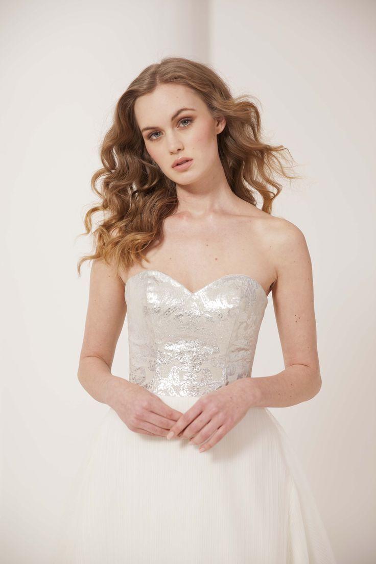 16++ Silver wedding gown design ideas in 2021