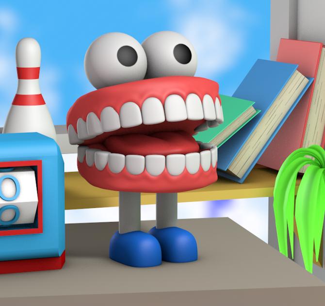 Pick Me Up TV Jack Sachs Illustration 3D Animation