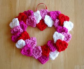 Fiber Flux: How to Make a Tiny Hearts Wreath