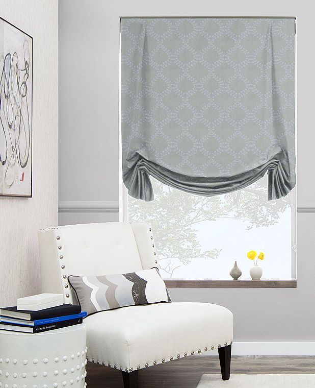 Tulip Roman Shades | Custom Roman Blinds | The Shade Store | Winding Leaves