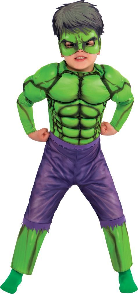 Toddler Boys Hulk Muscle Costume Classic - Party City  sc 1 st  Pinterest & Toddler Boys Hulk Muscle Costume Classic - Party City | Halloween ...