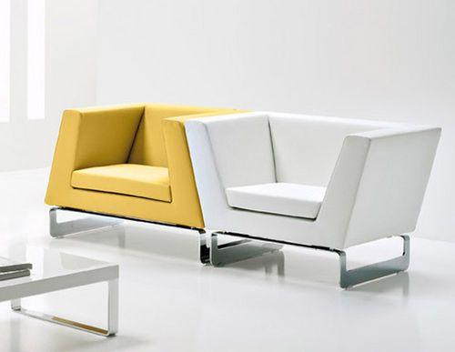 Brilliant Commercial Modular Armchair Lady By Cory Grosser Creativecarmelina Interior Chair Design Creativecarmelinacom